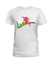 Lily flower Ladies T-Shirt thumbnail