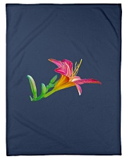 """Lily flower Small Fleece Blanket - 30"""" x 40"""" front"""