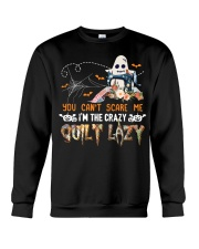 Sewing quilting fabric halloween Crewneck Sweatshirt tile