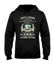 Sewing quilting fabric  Hooded Sweatshirt thumbnail
