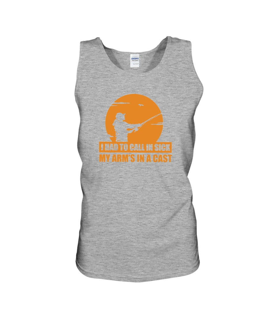 HAD TO CALL IN SICK Unisex Tank