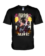 Kiss Alive V-Neck T-Shirt thumbnail