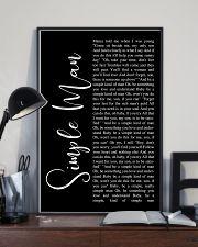 Simple Man Lyrics 11x17 Poster lifestyle-poster-2