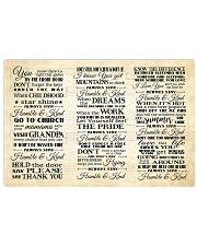 Humble and Kind Lyrics Tim McGraw 24x16 Poster front
