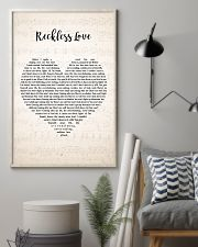 Cory Asbury Reckless Love Song Lyrics Heart 11x17 Poster lifestyle-poster-1