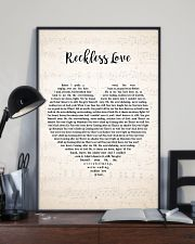 Cory Asbury Reckless Love Song Lyrics Heart 11x17 Poster lifestyle-poster-2