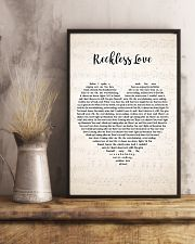 Cory Asbury Reckless Love Song Lyrics Heart 11x17 Poster lifestyle-poster-3