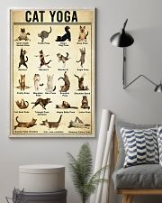 Yoga Cat Wall Art 11x17 Poster lifestyle-poster-1