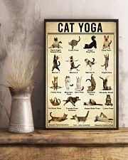 Yoga Cat Wall Art 11x17 Poster lifestyle-poster-3