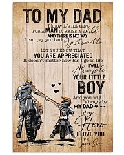 Son To My Dad You Will Always Be Dad My Hero 11x17 Poster front