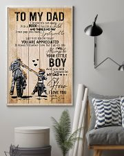 Son To My Dad You Will Always Be Dad My Hero 11x17 Poster lifestyle-poster-1