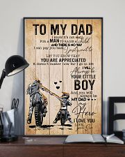 Son To My Dad You Will Always Be Dad My Hero 11x17 Poster lifestyle-poster-2