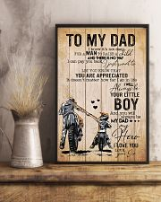 Son To My Dad You Will Always Be Dad My Hero 11x17 Poster lifestyle-poster-3