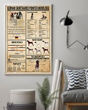 German Shorthaired Pointer Knowledge Poster 11x17 Poster lifestyle-poster-1
