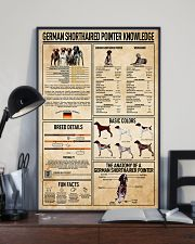 German Shorthaired Pointer Knowledge Poster 11x17 Poster lifestyle-poster-2