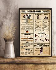 German Shorthaired Pointer Knowledge Poster 11x17 Poster lifestyle-poster-3