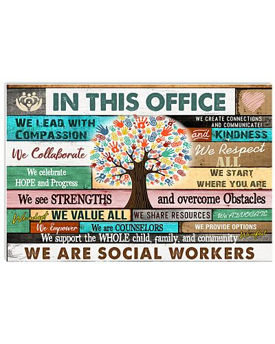 In This Office Social Worker We Do Teamwork