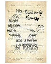 Butterfly Kisses Lyrics Bob Carlisle 11x17 Poster front