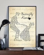 Butterfly Kisses Lyrics Bob Carlisle 11x17 Poster lifestyle-poster-2