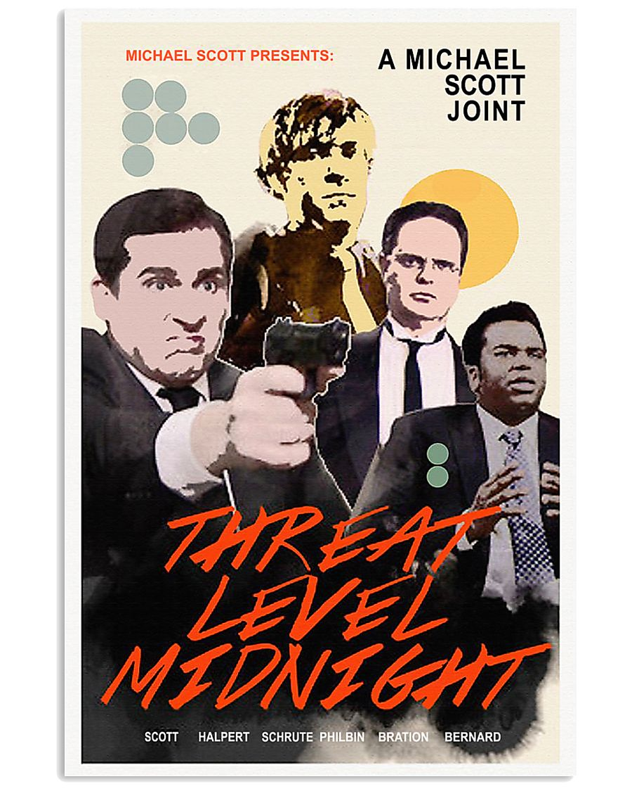 A Michael Scott Joint Threat Level Midnight Poster 11x17 Poster