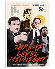 A Michael Scott Joint Threat Level Midnight Poster 11x17 Poster front