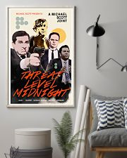 A Michael Scott Joint Threat Level Midnight Poster 11x17 Poster lifestyle-poster-1