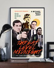 A Michael Scott Joint Threat Level Midnight Poster 11x17 Poster lifestyle-poster-2