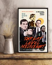 A Michael Scott Joint Threat Level Midnight Poster 11x17 Poster lifestyle-poster-3