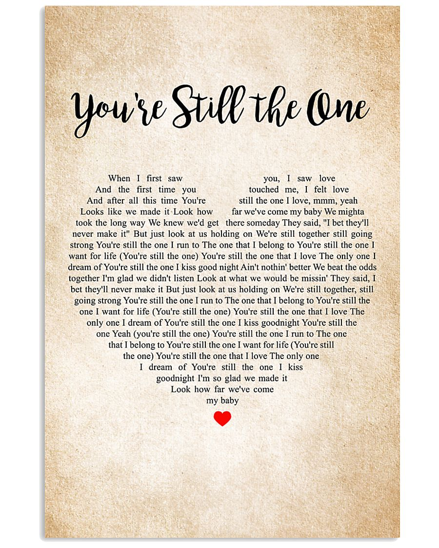 You are Still The One poster 11x17 Poster