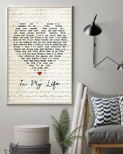 In My Life Lyrics 11x17 Poster lifestyle-poster-1
