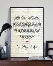 In My Life Lyrics 11x17 Poster lifestyle-poster-2