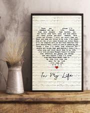 In My Life Lyrics 11x17 Poster lifestyle-poster-3