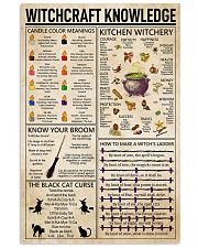 Witchcraft Witchery Knowledge Poster 11x17 Poster front
