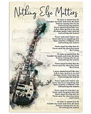 Nothing Else Matters Song Lyrics 11x17 Poster front