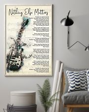 Nothing Else Matters Song Lyrics 11x17 Poster lifestyle-poster-1