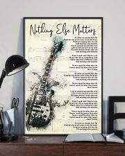 Nothing Else Matters Song Lyrics 11x17 Poster lifestyle-poster-2