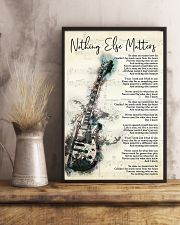 Nothing Else Matters Song Lyrics 11x17 Poster lifestyle-poster-3