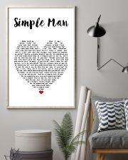 Simple Man Lyrics Landscape Paper Poster No Frame 11x17 Poster lifestyle-poster-1