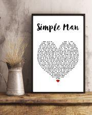 Simple Man Lyrics Landscape Paper Poster No Frame 11x17 Poster lifestyle-poster-3