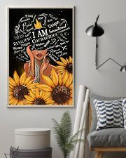 Black Girl I Am Afro Woman 11x17 Poster lifestyle-poster-1