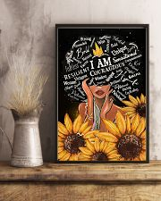 Black Girl I Am Afro Woman 11x17 Poster lifestyle-poster-3