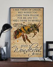 I See Trees Of Green Red Roses 11x17 Poster lifestyle-poster-2