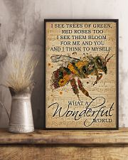I See Trees Of Green Red Roses 11x17 Poster lifestyle-poster-3