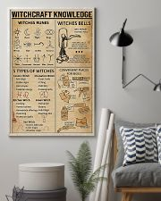 Witchcraft Knowledge Poster Witches Rune Poster  11x17 Poster lifestyle-poster-1