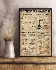 Witchcraft Knowledge Poster Witches Rune Poster  11x17 Poster lifestyle-poster-3