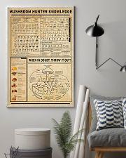 Mushroom Hunter Knowledge Home Decoration Art 11x17 Poster lifestyle-poster-1