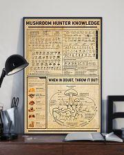 Mushroom Hunter Knowledge Home Decoration Art 11x17 Poster lifestyle-poster-2