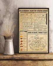 Mushroom Hunter Knowledge Home Decoration Art 11x17 Poster lifestyle-poster-3
