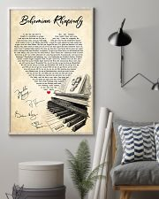 Bohemian Rhapsody Lyrics Satin Portrait Poster 11x17 Poster lifestyle-poster-1
