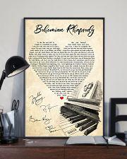 Bohemian Rhapsody Lyrics Satin Portrait Poster 11x17 Poster lifestyle-poster-2